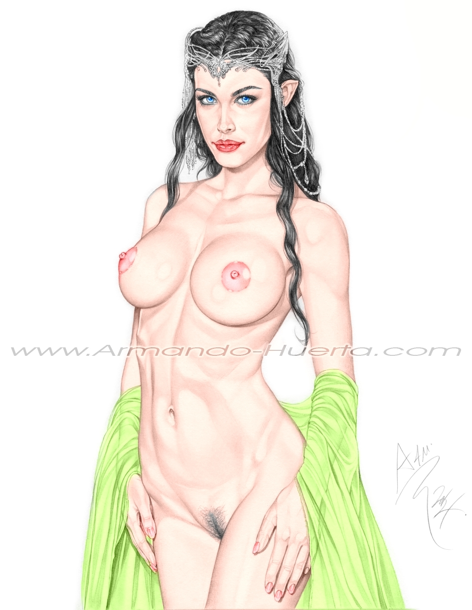 Nude elves tattoos sexy girls