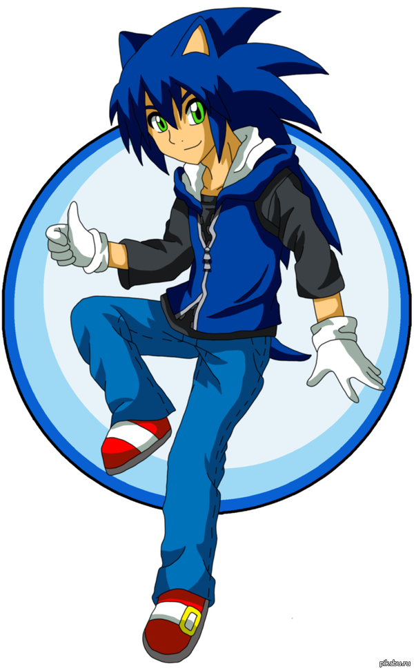 Sonic the hedgehog human