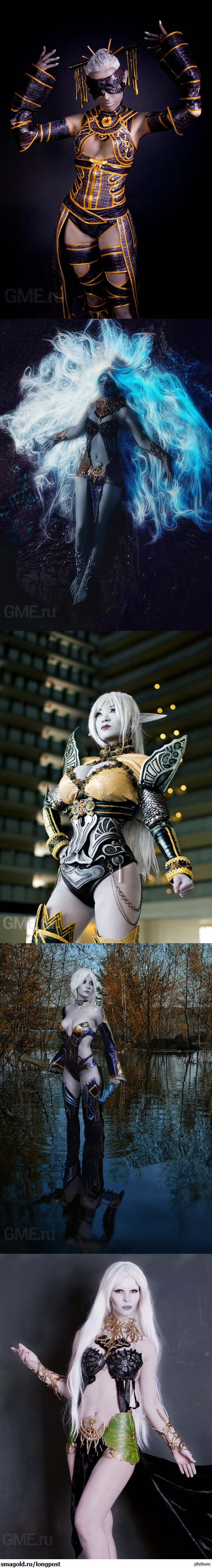 Lineage 2 porn cosplay naked pictures