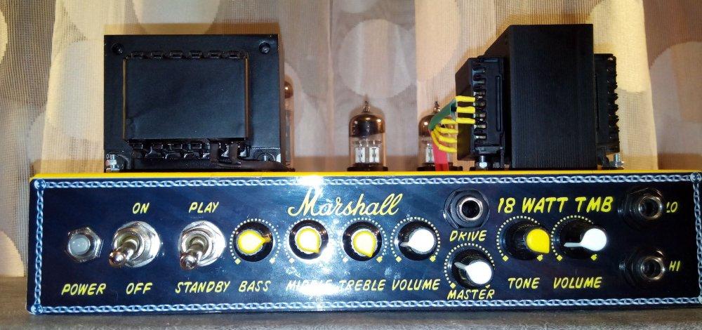 DIY Ceriatone Marshall 18 watt TMB