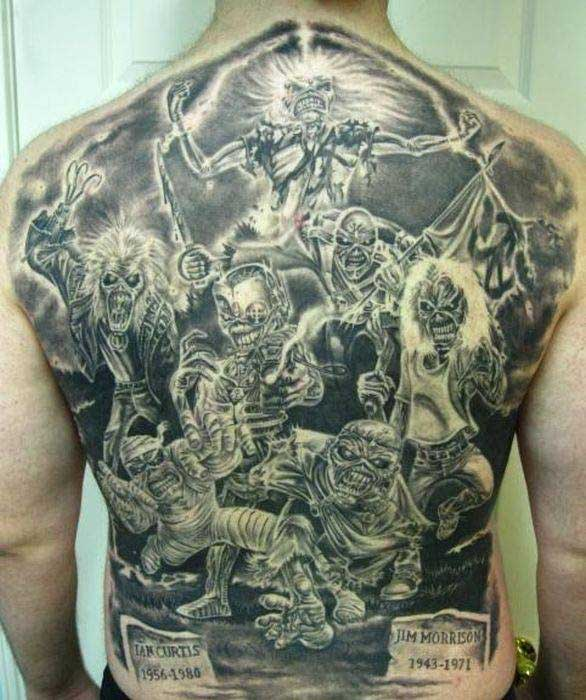 Пиратские татуировки: значение, 37 фото татуировки, эскизы 76
