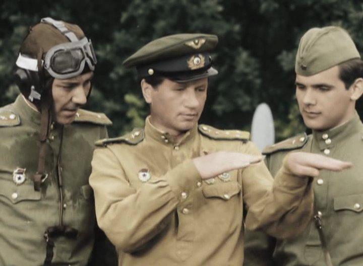 фото из фильма в бой идут одни старики