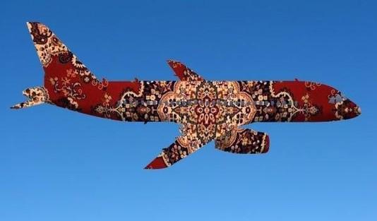 ковер картинки самолет