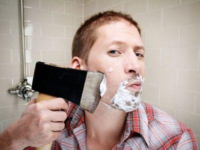 Как брить свою дырку