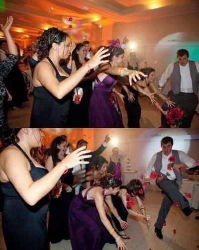 Если поймала на свадьбе букет невесты