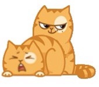 Коты стикеры вконтакте