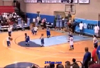 Теперь ты видел больше лилипутский баскетбол