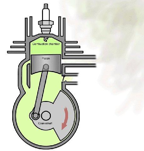 Резонатор для двухтактного двигателя 129