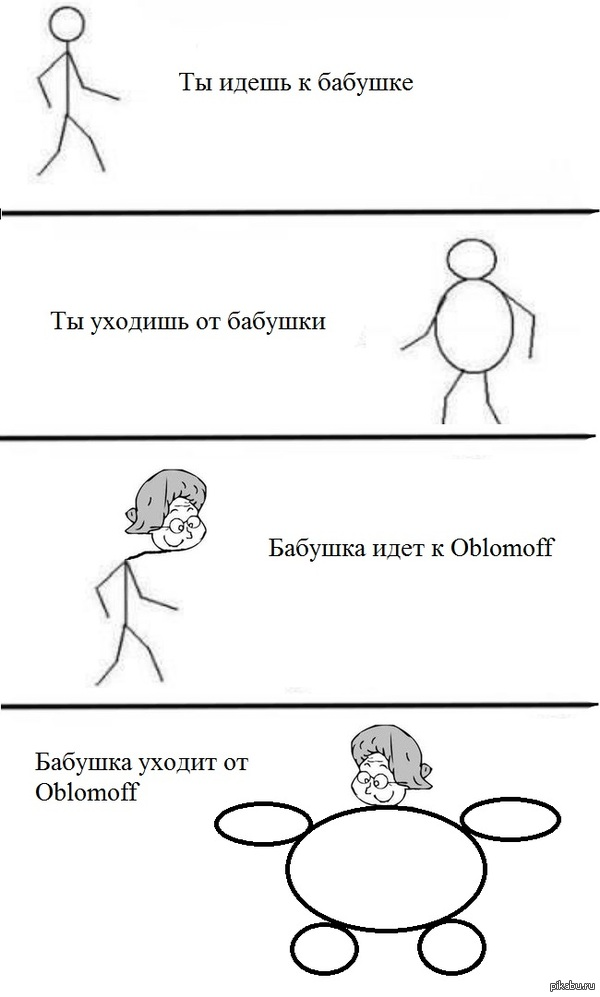 Бабушка идёт к Oblomoff