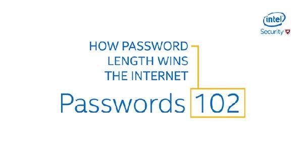Для пароля размер имеет значение.