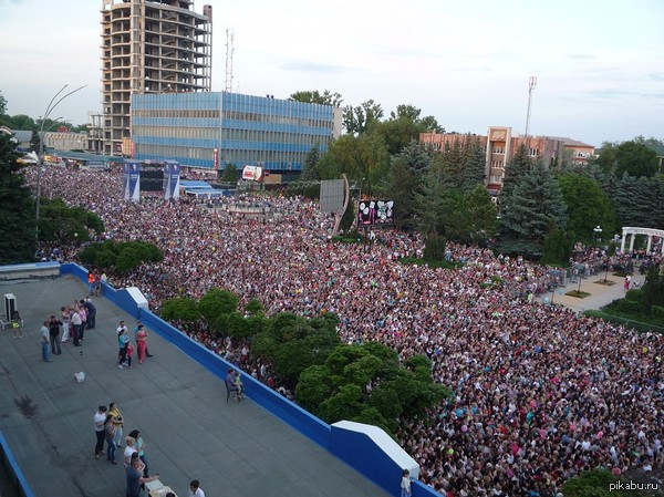 Бельцы на концерте у Стаса Михайлова Молдова процветает