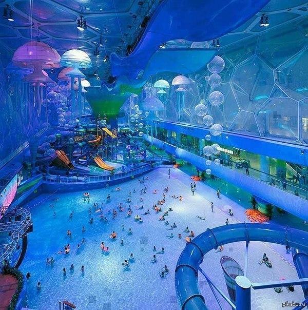 """Про сны. Я был удивлен, когда, лазив по Интернету, я обнаружил тот аквапарк, который видел во сне года 3 назад, он называется """"Water Cube"""". А какие у вас был"""