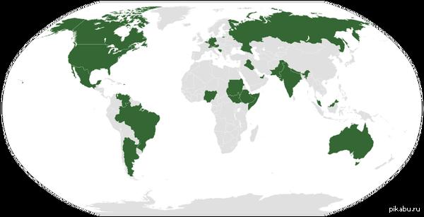 Карта федеративных государств А Украинцы могут дальше говорить что Федеративное устройство ведёт к распаду страны