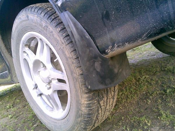 Спасибо водителям с брызговиками! Не экономте на таких вещах в Вашем авто!