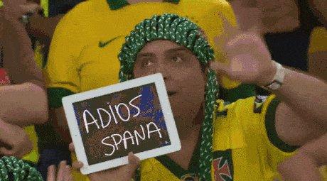 Когда Испания вышла из группы.