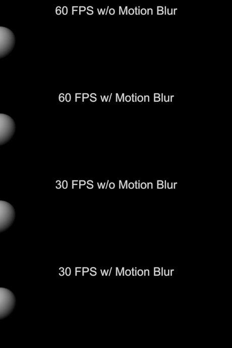 Разница между 30 и 60 fps