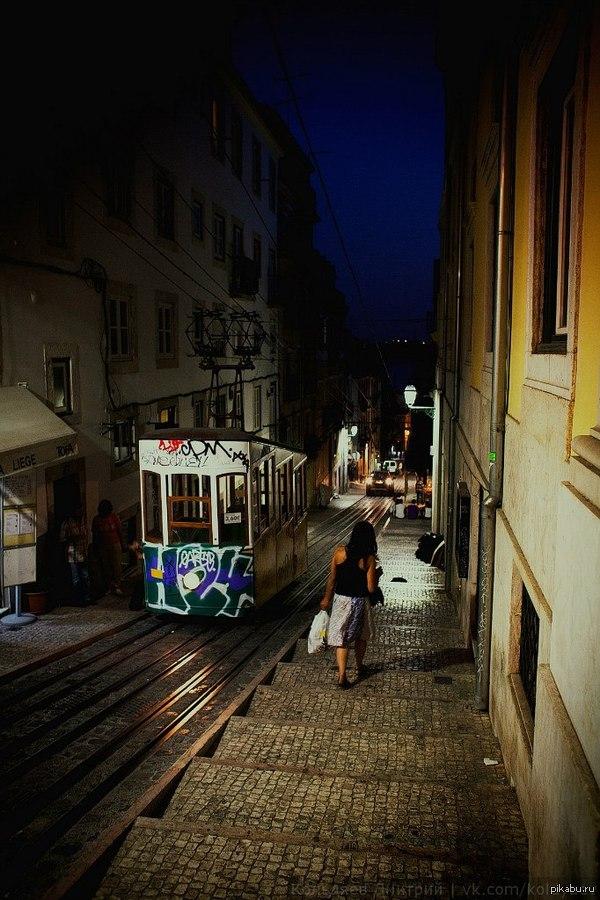 Трамвай в Лиссабоне Раз уж пошла такая пьянка