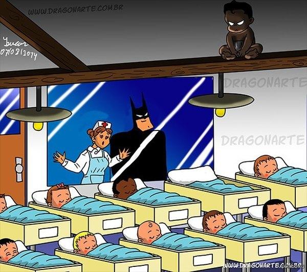 Все потому что он - Batman.