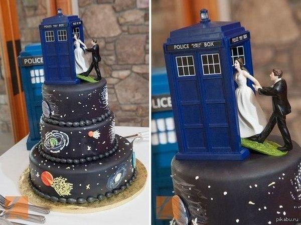 Теперь я знаю какой торт будет на моей свадьбе :з