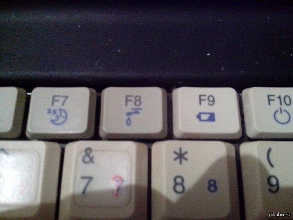 """Объясните хоть кто не будь. Зачем эта клавиша!? Взято с """"ТП""""."""