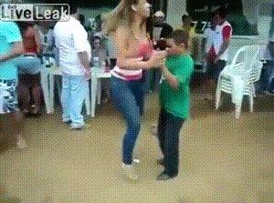 Хорошему танцору рост не помеха.