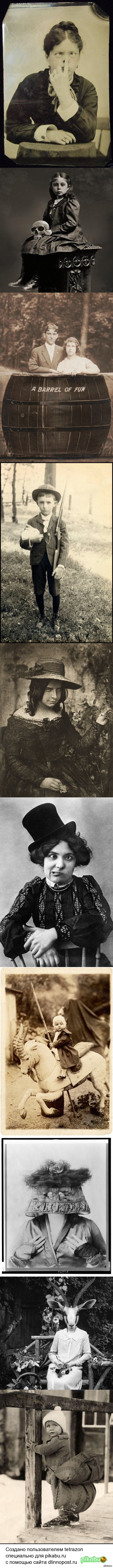 Странноватые старинные фотографии