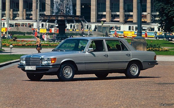450SEL (W116). The best of Mercedes.