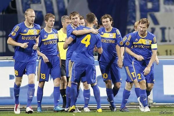 БАТЭ В ЛИГЕ ЧЕМПИОНОВ! БАТЭ Борисов одолел Слован Братислава, ТЕПЕРЬ БЕЛАРУСЬ В ЛИГЕ ЧЕМПИОНОВ! Верим в удачу! Ведь единственные же Баварию победили в 2012 :)