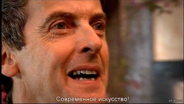 Привет, Доктор) Пересиатривал вторую серию четвёртого сезона, и...  P.S. В той же серии была и Эми (играла служительницу храма)  P.P.S. Скриншот из той самой серии.