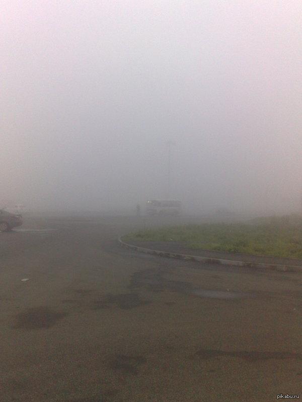 Только вчера посмотрел Silent Hill и тут на тебе. Екатеринбург, сегодня утром.