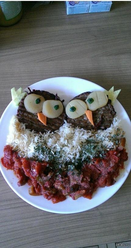 Моя больная кулинарная фантазия..) Съедобные совушки