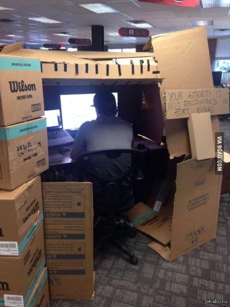 Классная идея для офисных работников)