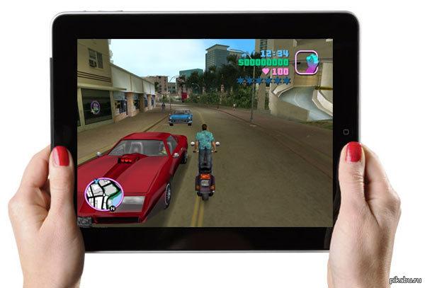 Vice City для iPad Привет, Пикабу! Подскажите сайты, на которых есть промо коды для iPad. Очень хочу найти GTA Vice City... или поделитесь кодом, кому не жалко)