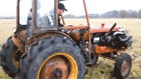 Мы не сеем, мы не пашем мы на тракторе гоняем)