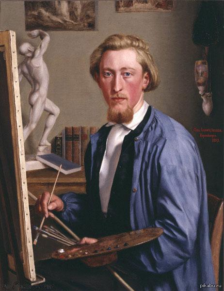 Автопортре́т — портрет самого себя. Обычно имеется в виду живописное изображение. На профессиональном автопортрете, как вот на этом, принадлежащем кисти Карла Людвига Йессена, художник изображает себя за работой.