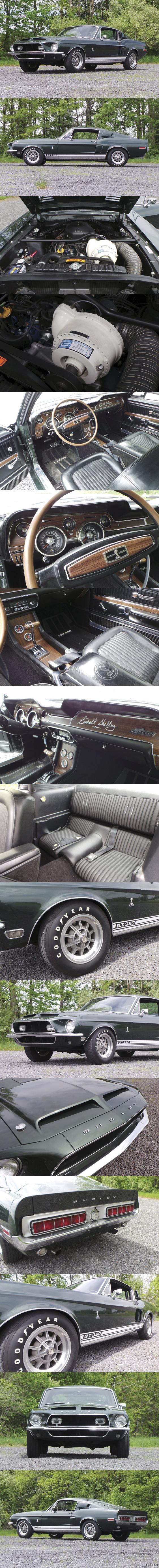 О нет! Это Кобра! 1968 Shelby GT 350 Fastback