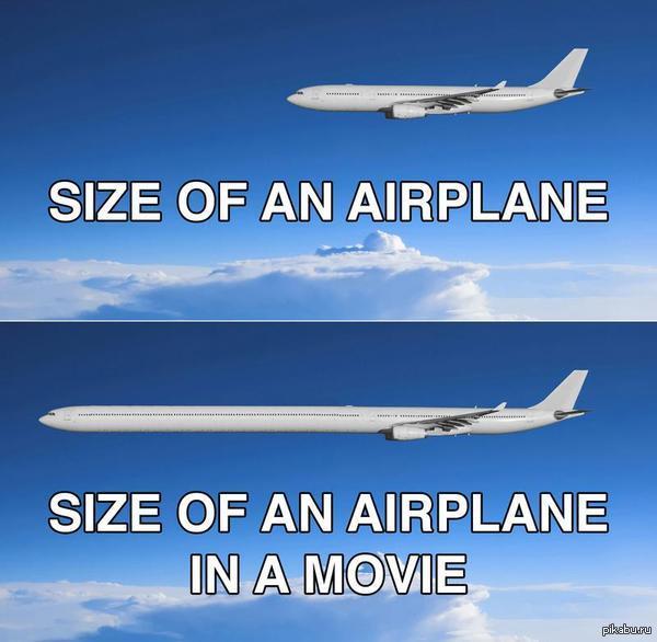 """Самолеты в реальности и в фильмах. Вспомнился """"Самолет президента"""""""