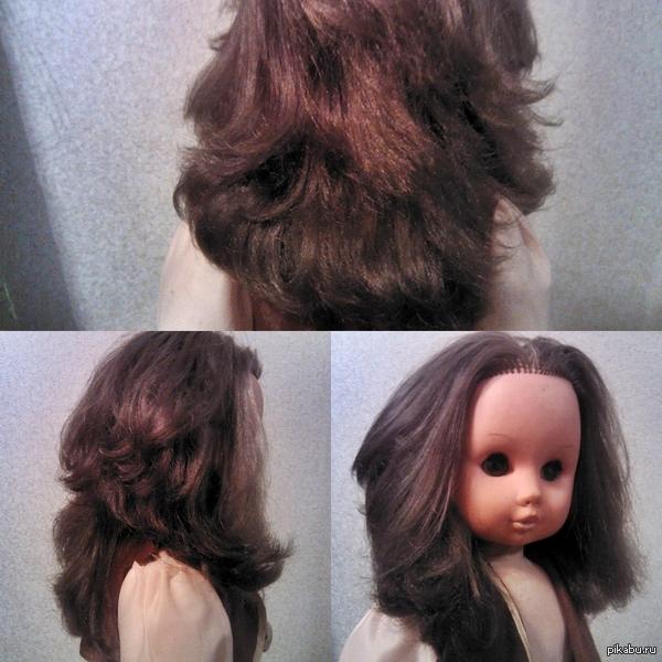 то чувство, когда волосы у куклы лучше, чем у тебя. P.S. ей около 30 лет  P.P.S.  я боюсь ее до усрачки