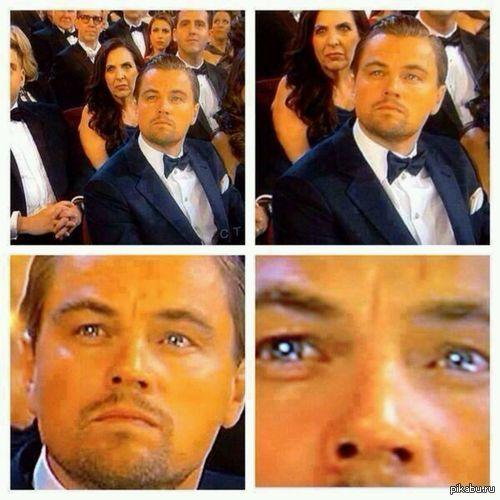 """Надоели посты с аккаунтами звёзд. На всякий случай создал аккаунт LeonardoDiCaprio, чтобы никто не сделал пост про """"Этот радостный момент"""" хотябы с ним. Муахаахахааа... Лига зла прис"""