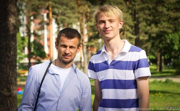 А вот и мое фото со знаменитостью Российский футболист, тренер Сергей Богданович Семак