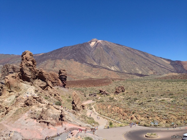Вулкан на острове Тенерифе