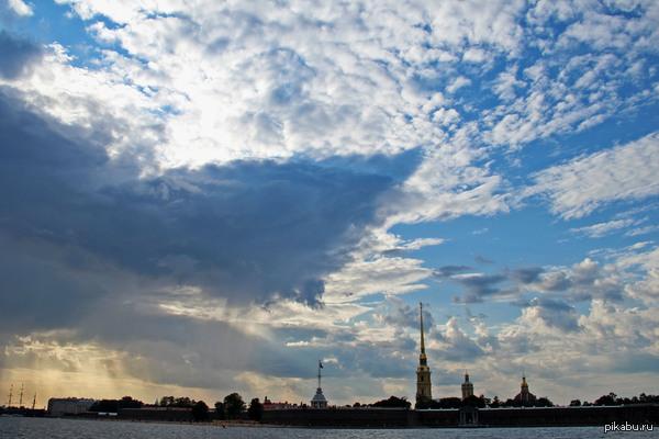 """Питер. Побывал летом в Санкт-Петербурге, город очень впечатлил. Пятничное """"моё""""."""