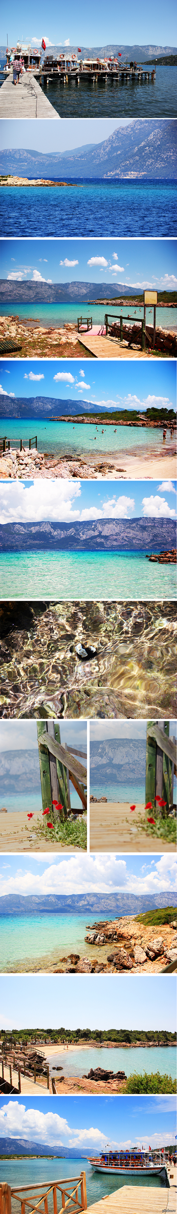 Пляж Клеопатры Основная фишка пляжа - в необычном песке, который, по легенде, сюда привезли из Северной Африки. Песок уникален, и встречается только в 2х местах на Земле.