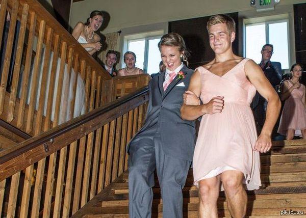 Оригинальность во всем свидетели на свадьбе