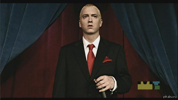 """R.I.P. Slim Shady В последнем треке """"Guts Over Fear"""" рэпер Eminem говорит что больше не будет читать в образе Слима - блондина психопата."""