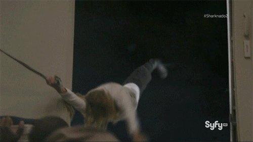 Тот момент когда актриса перепутала эмоции ужаса и восторга