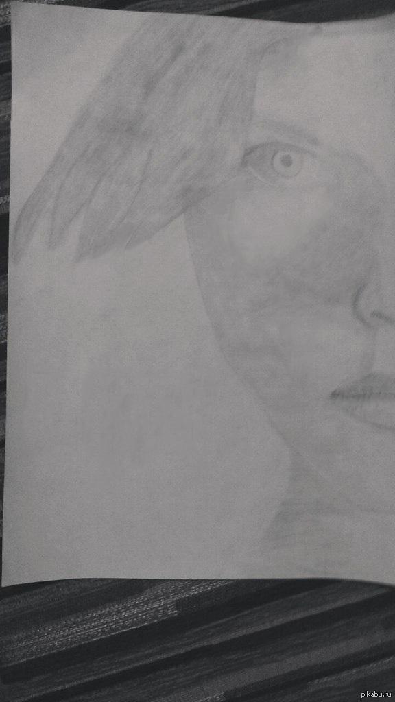 Люси... Недавно начал учиться рисовать. Оцените пожалуйста.