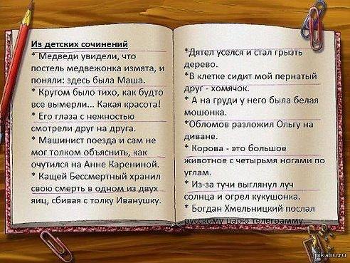 Цитаты из сочинений