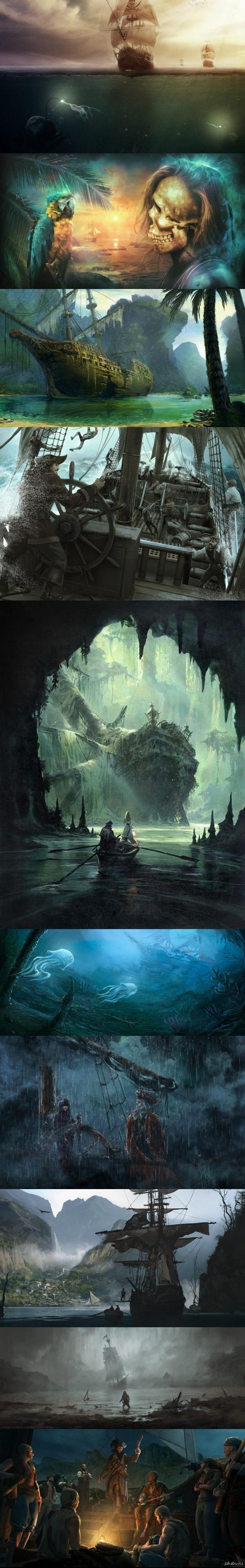 Пиратские арты. Часть III.