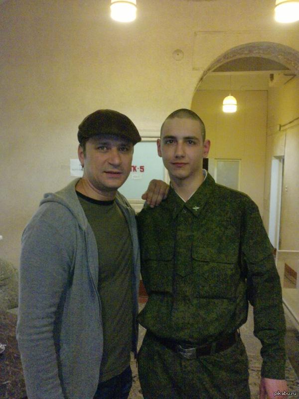 Фото со знаменитостью Я и Гена Букин